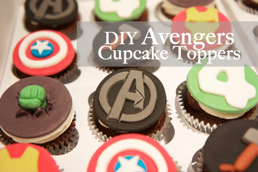 Avengers Birthday Cupcake Toppers – MonkeySmiles