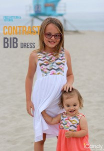 Contrast-Bib-Dress