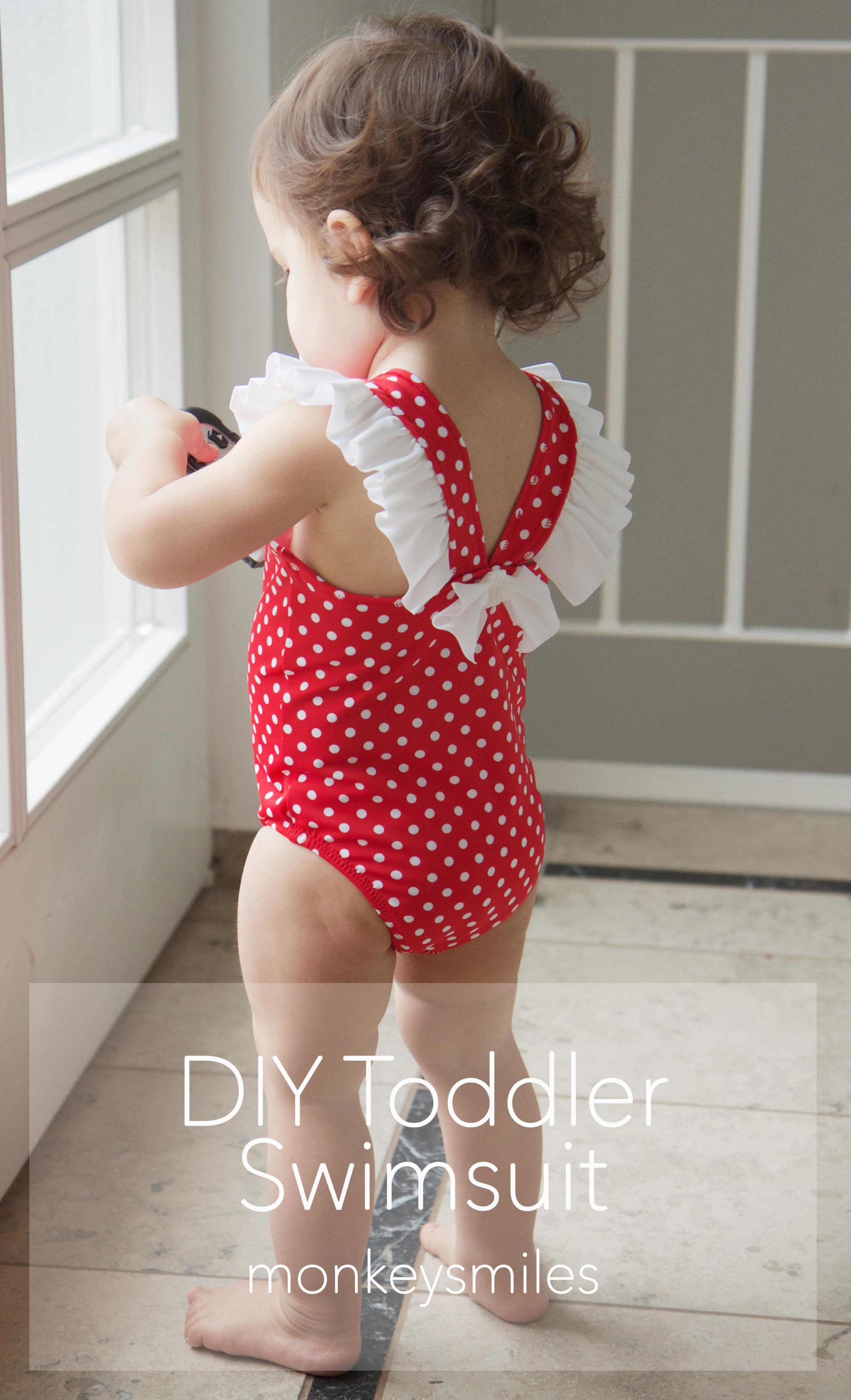 Toddler Swimsuit Tutorial – MonkeySmiles