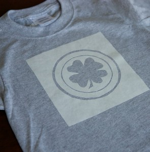 DIY St. Paddy's Day shirt