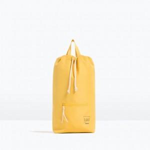 Zara drawstring backpack on monkeysmiles