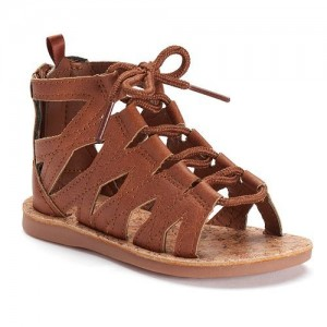 Osh Kosh toddler sandal on monkeysmiles