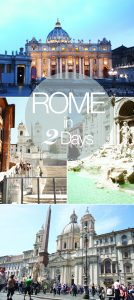 How to do a Rome Family Vacation in 2 Days with kids
