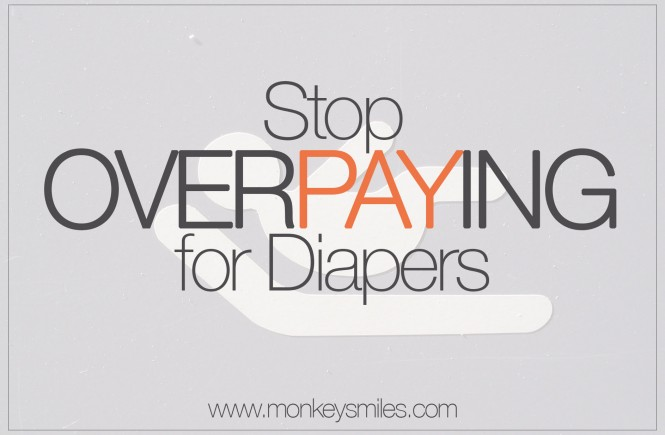 Stop Overpaying For Diapers via monkeysmiles